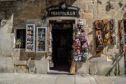 tienda en santillana